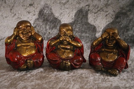Picture of buddha happy set 10