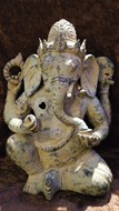Picture of ganesha with heart
