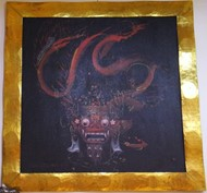 "Picture of painting ""fire dragon"""