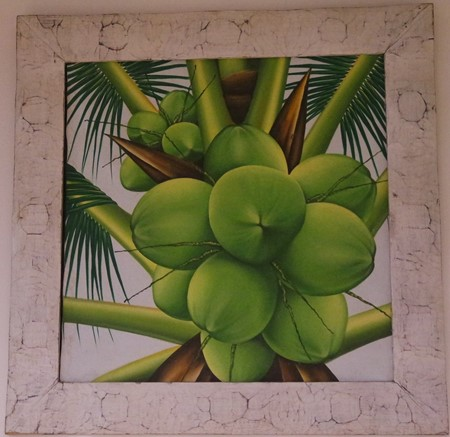 "Picture of painting ""coconut"""