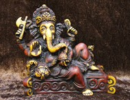 Picture of ganesha relaxing